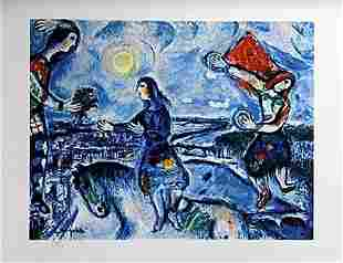 Lithograph After Marc Chagall (1E)