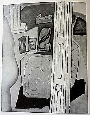 Offset Lithograph by artist William Brice (1WB)