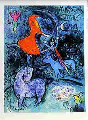 Lithograph After Marc Chagall (2E)