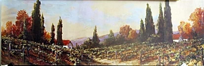 """Fine Art Print """"Autumn Vineyard"""" by Art Franckowiak"""