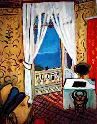 Limited Edition Interior With A Violin Case-By Matisse