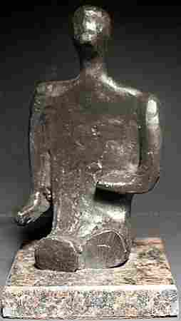 Bronze Sculpture After Henry Moore (366)