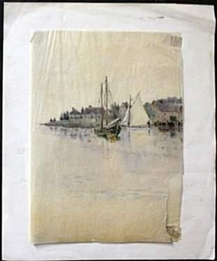 Original Watercolor on Japan Paper