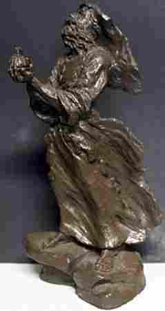 Bronze Sculpture By Mark Hopkins (409)