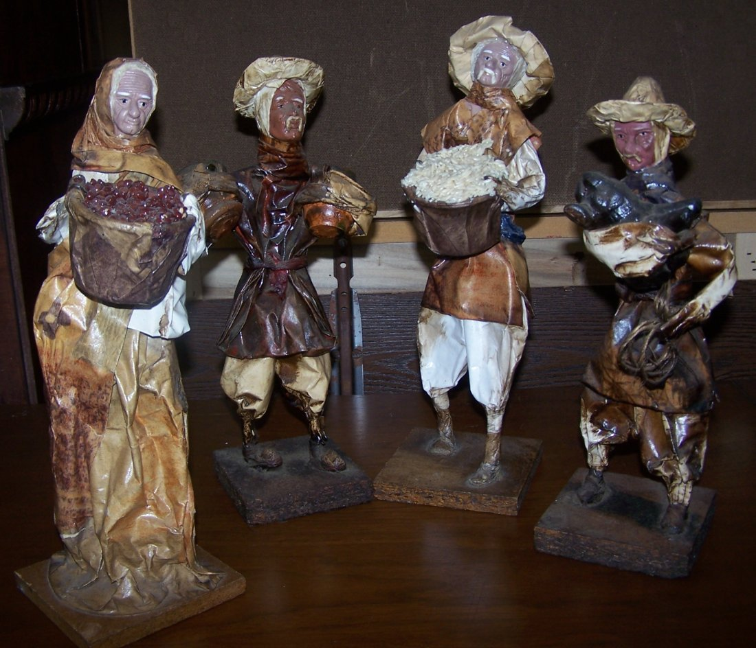 """The Village People"" Hand Made in the mountains of"