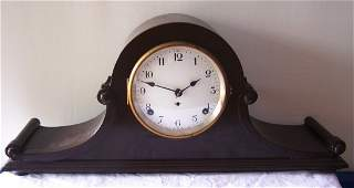 Seth Thomas Tambour Scroll Mantle Clock.