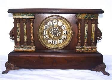 Antique Adamantine Mantle Clock