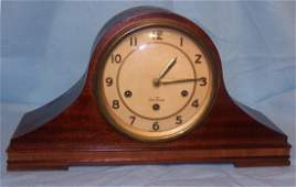 Seth Thomas Westminster Chime Tambour Mantle Clock