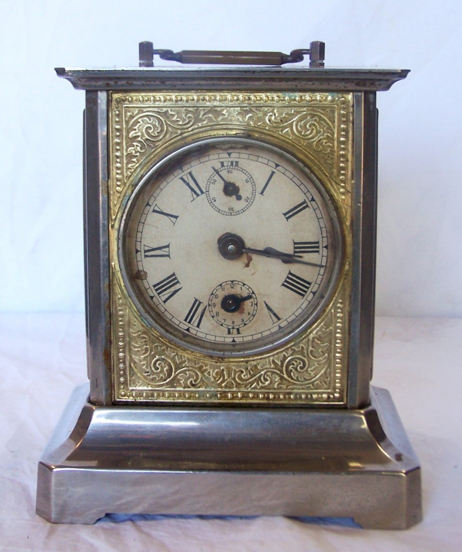 Antique German Musical Carriage Clock