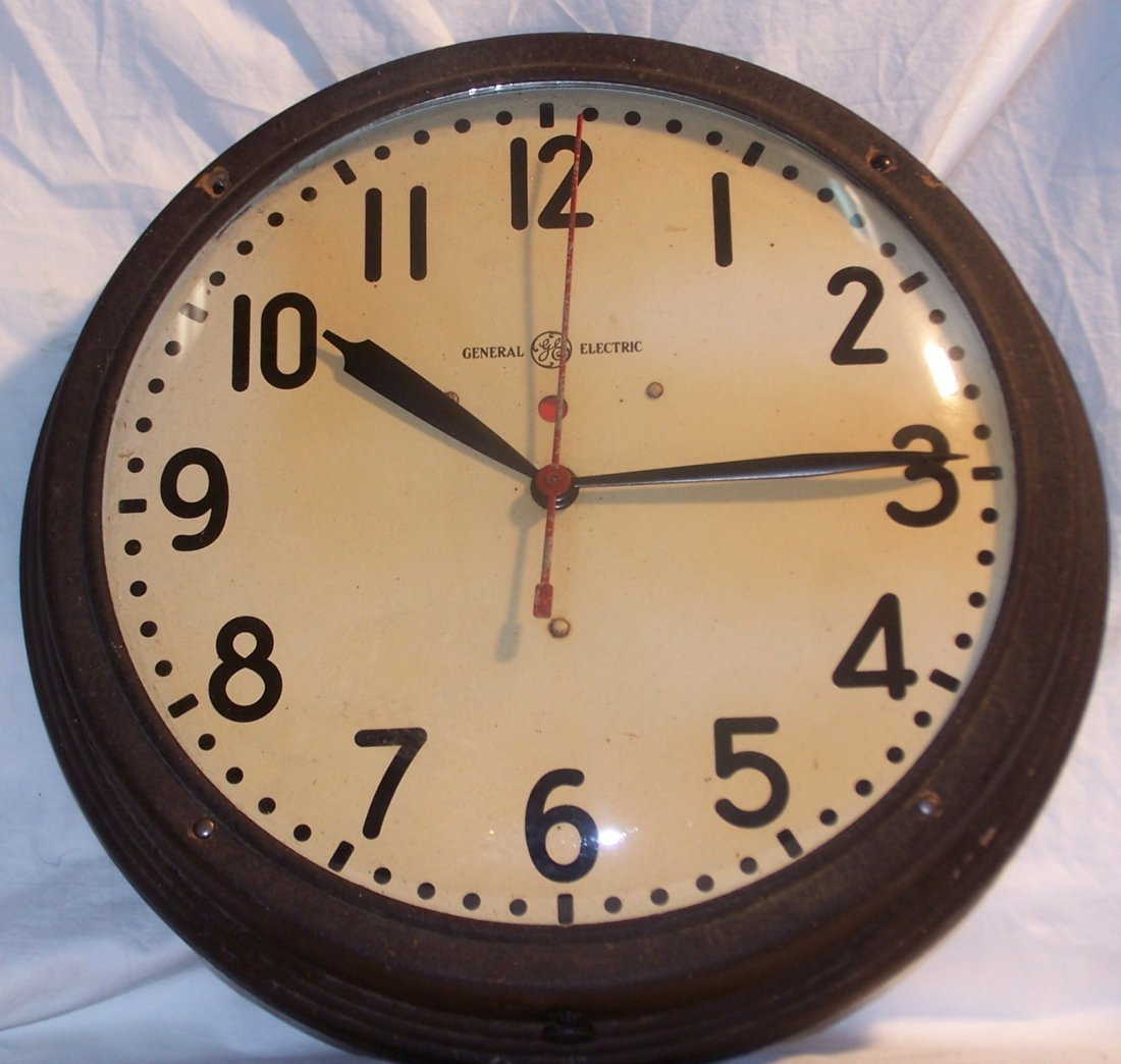 Antique General Electic Wall Clock