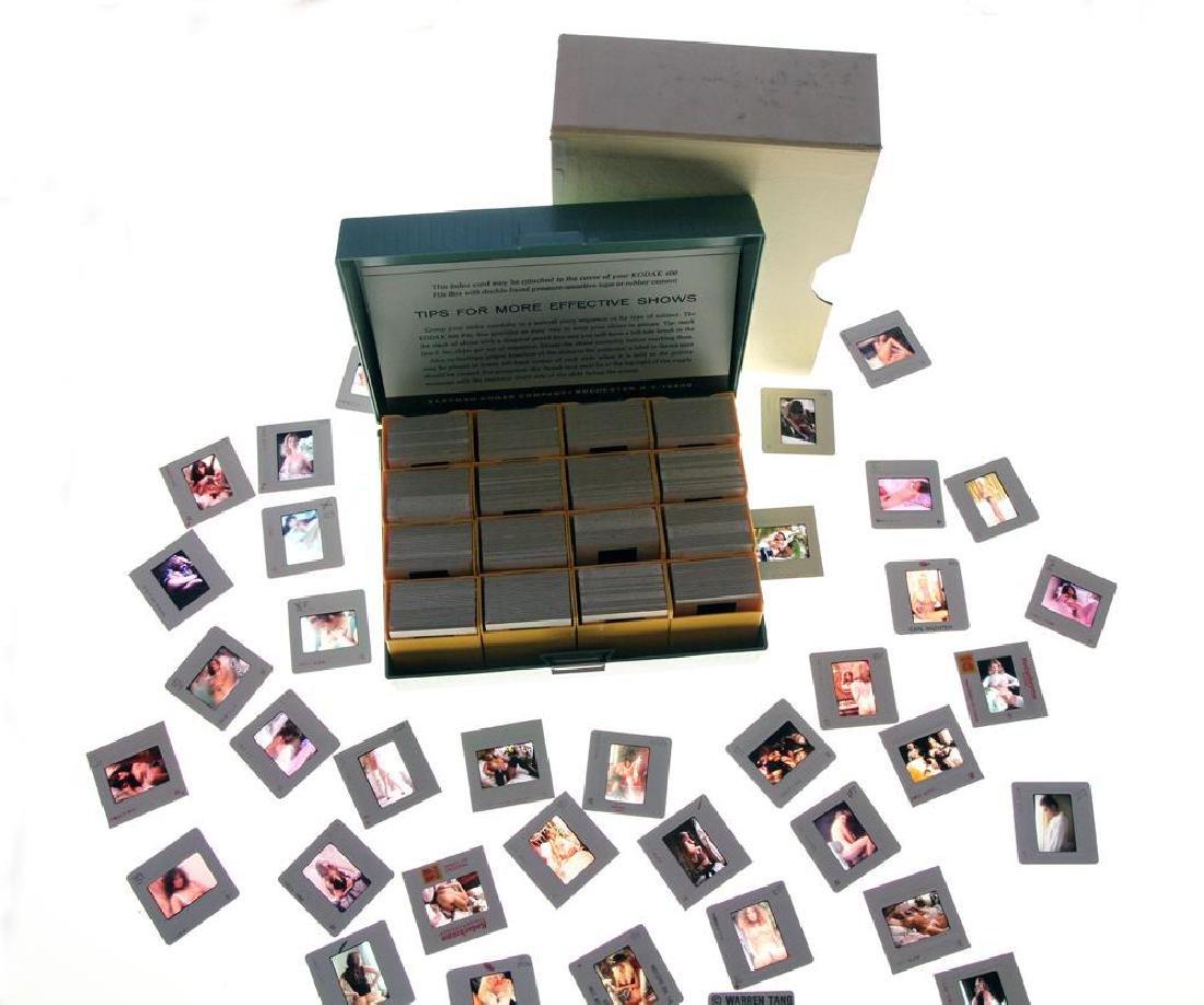 Orig Nude 35mm Slide Simone Brigette by Bob Guccione #1 - 2