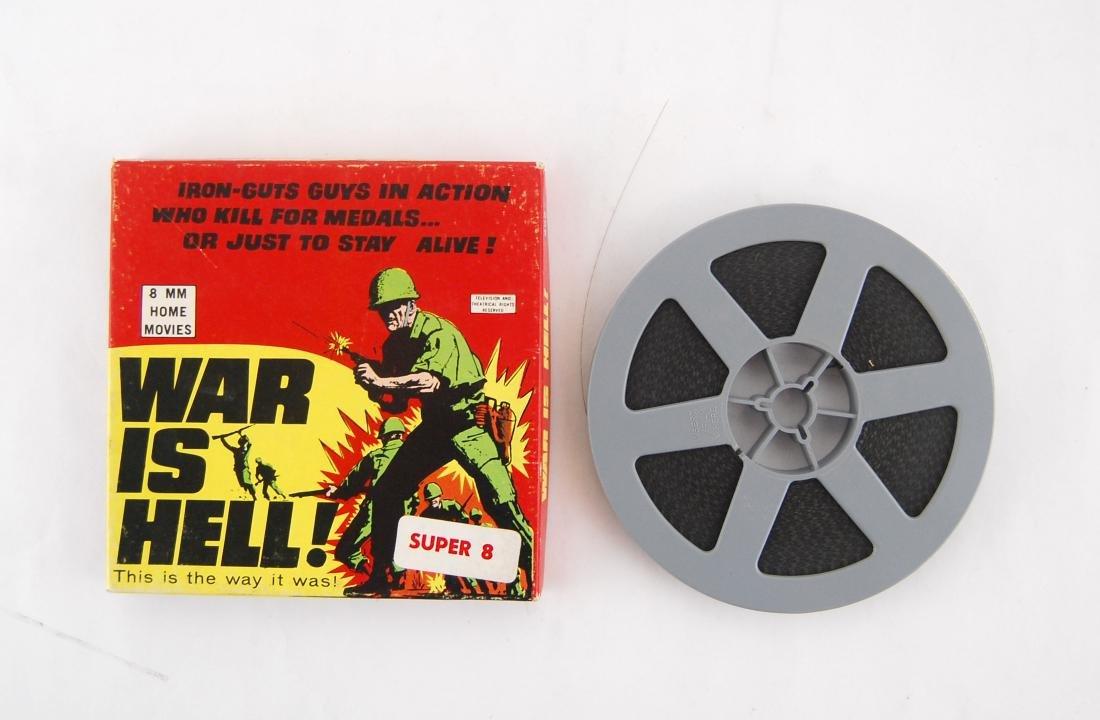 """Super 8mm Film """"War is Hell!"""" Korean War Movie"""