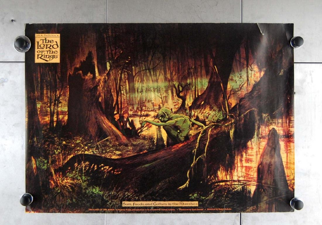 1978 Lord of the Rings Animated Fantasy Films Poster