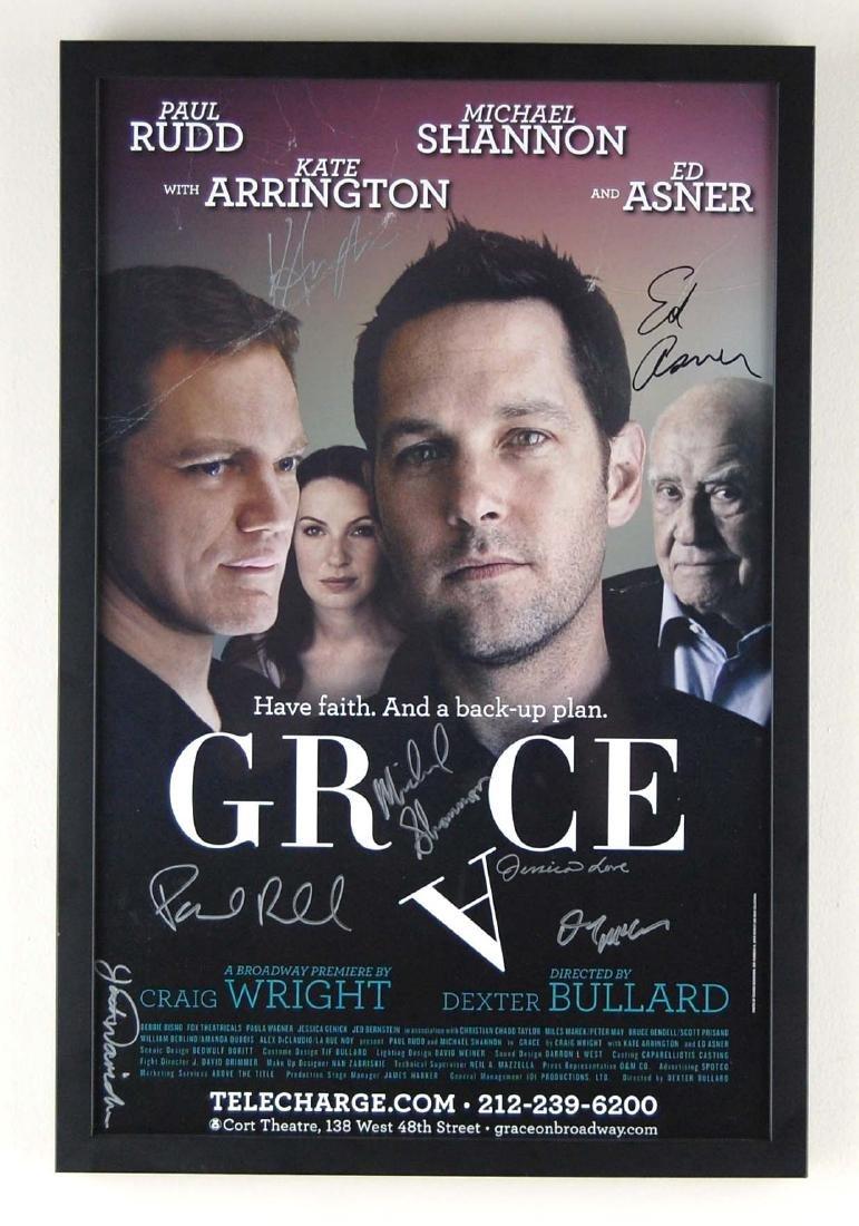 Grace Broadway Musical Cast Signed Print
