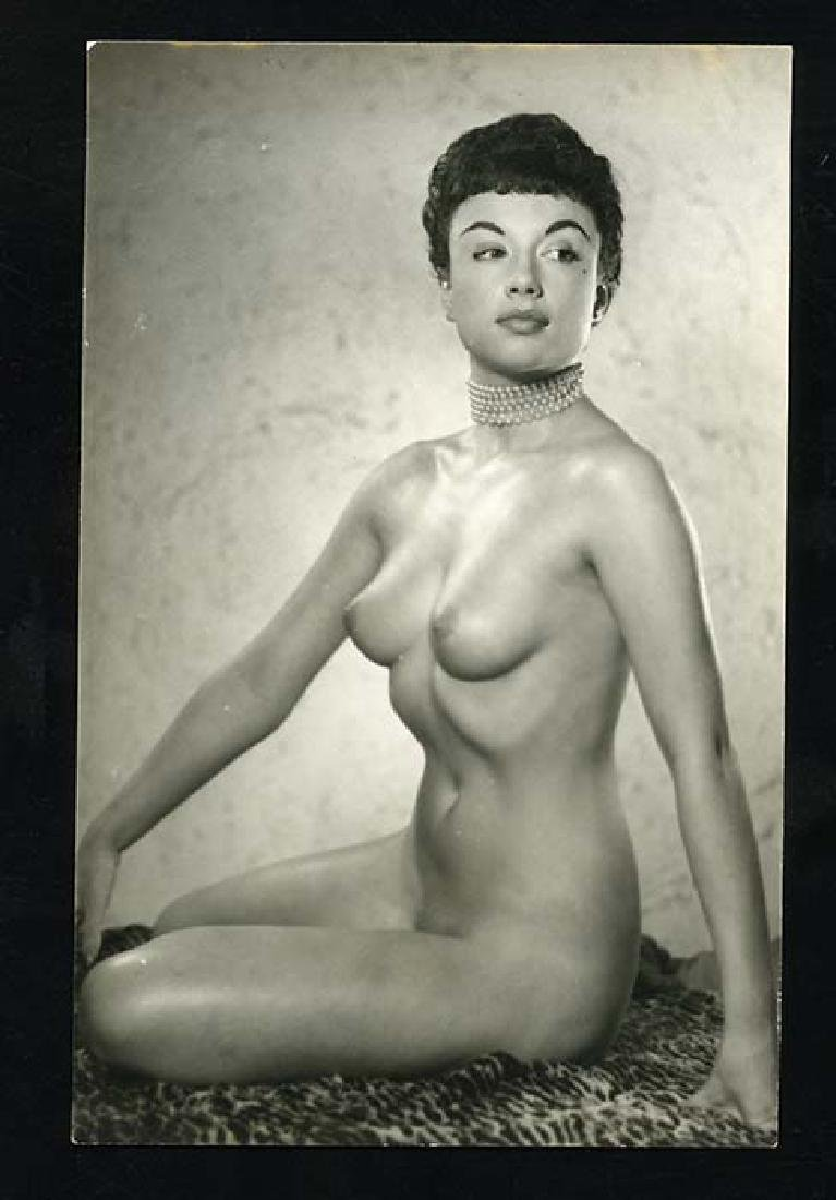 1950s Nude Pin-Up Pamela Green By Harrison Marks Photo