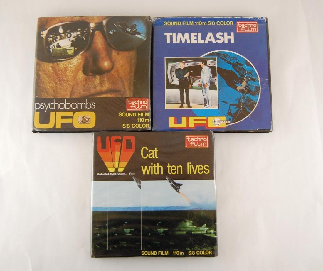3 110mm Films Science Fiction TV Show UFO - 2