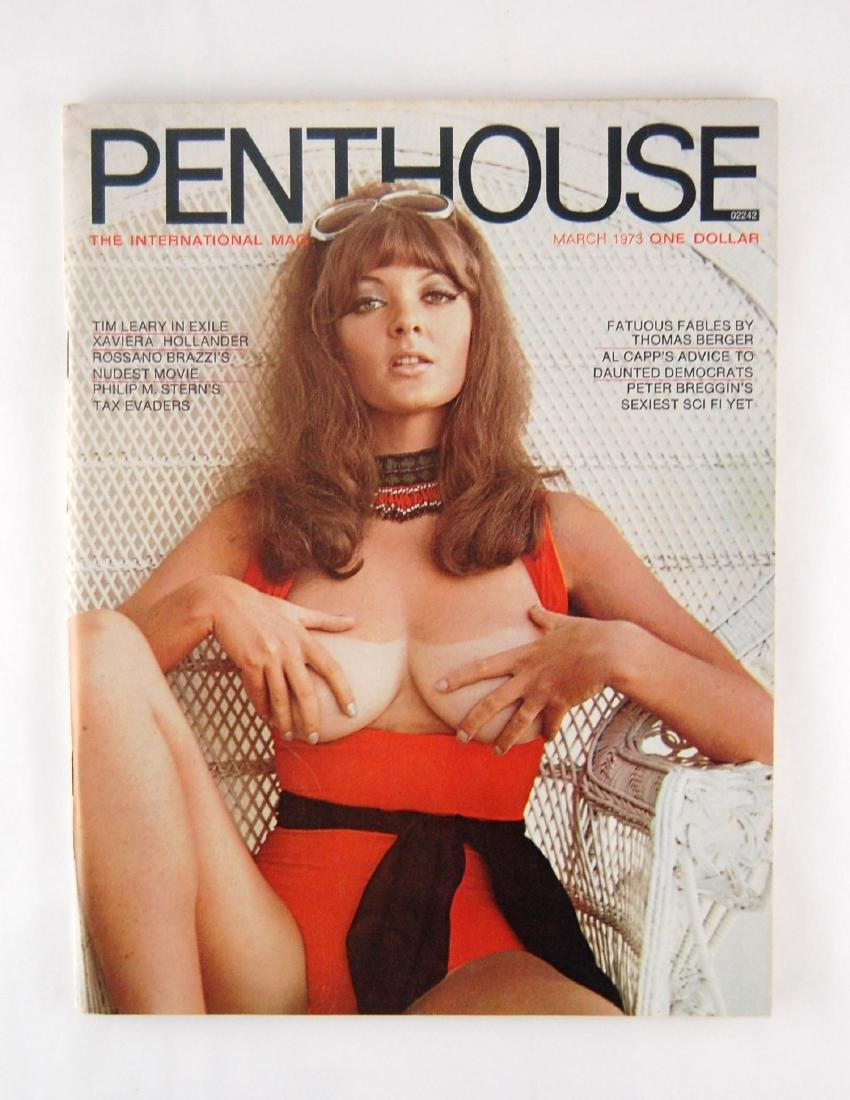Penthouse March 1973 Men's Magazine Avril Lund