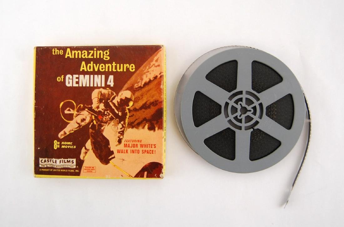 8mm The Amazing Adventure of Gemini 4 Space Film