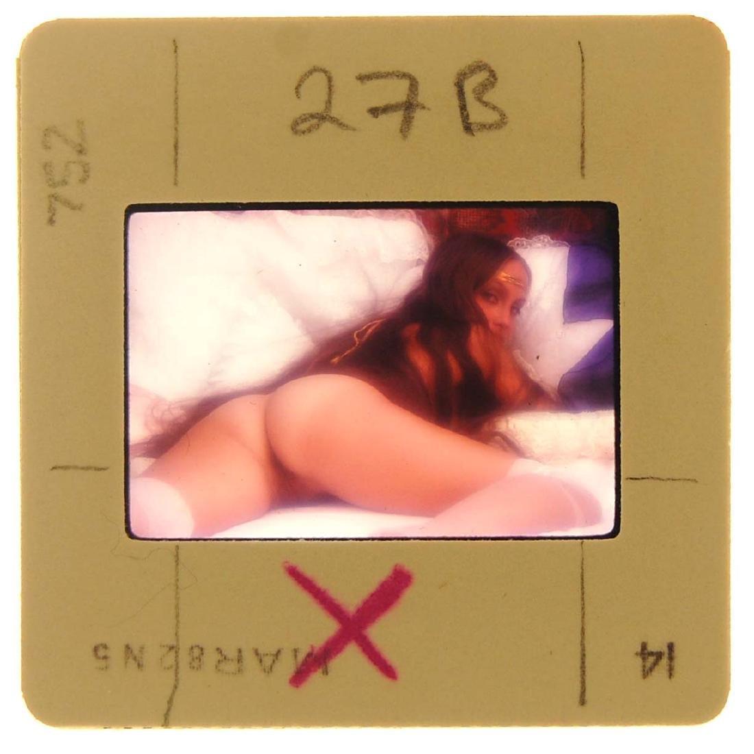 Orig Nude 35mm Slide Lari Jones & July 1982 Penthouse - 3