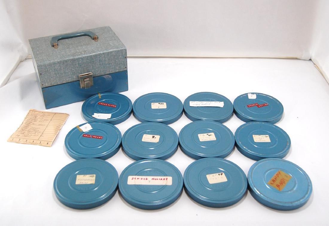 12 Vintage 1960s-1970s Erotic Adult 8mm Films & Metal