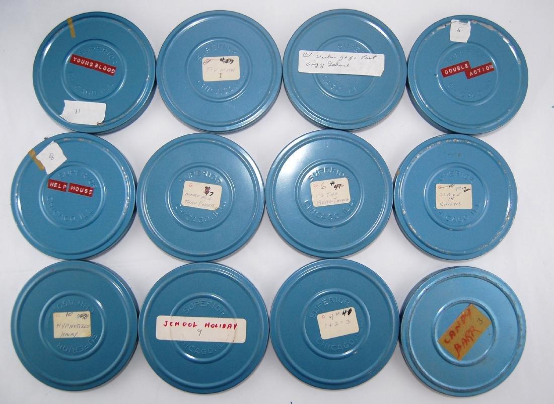 12 Vintage 1960s-1970s Erotic Adult 8mm Films & Metal - 2