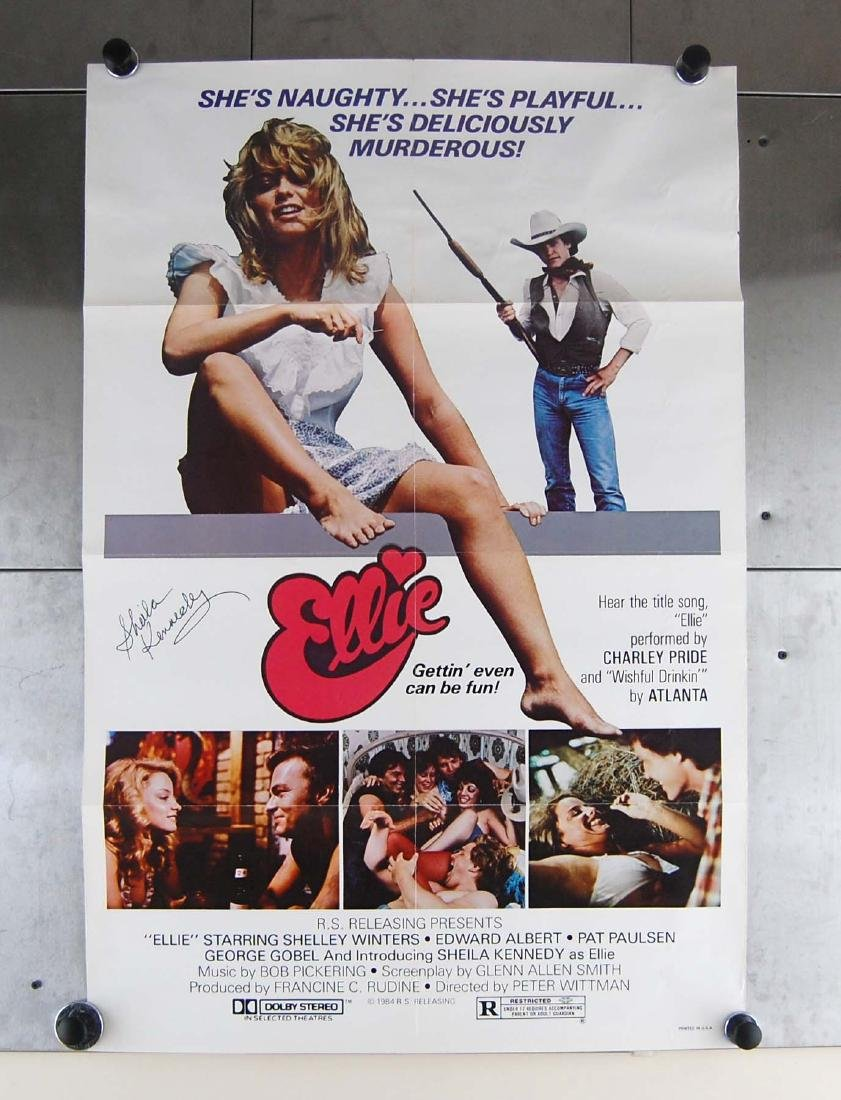 "Sheila Kennedy Signed 1984 ""Ellie"" Adult Comedy Movie"
