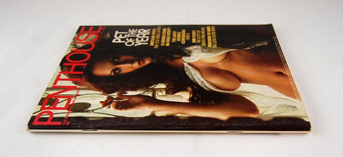 Orig Nude 35mm Slide Avril Lund & 1974 Penthouse - 6