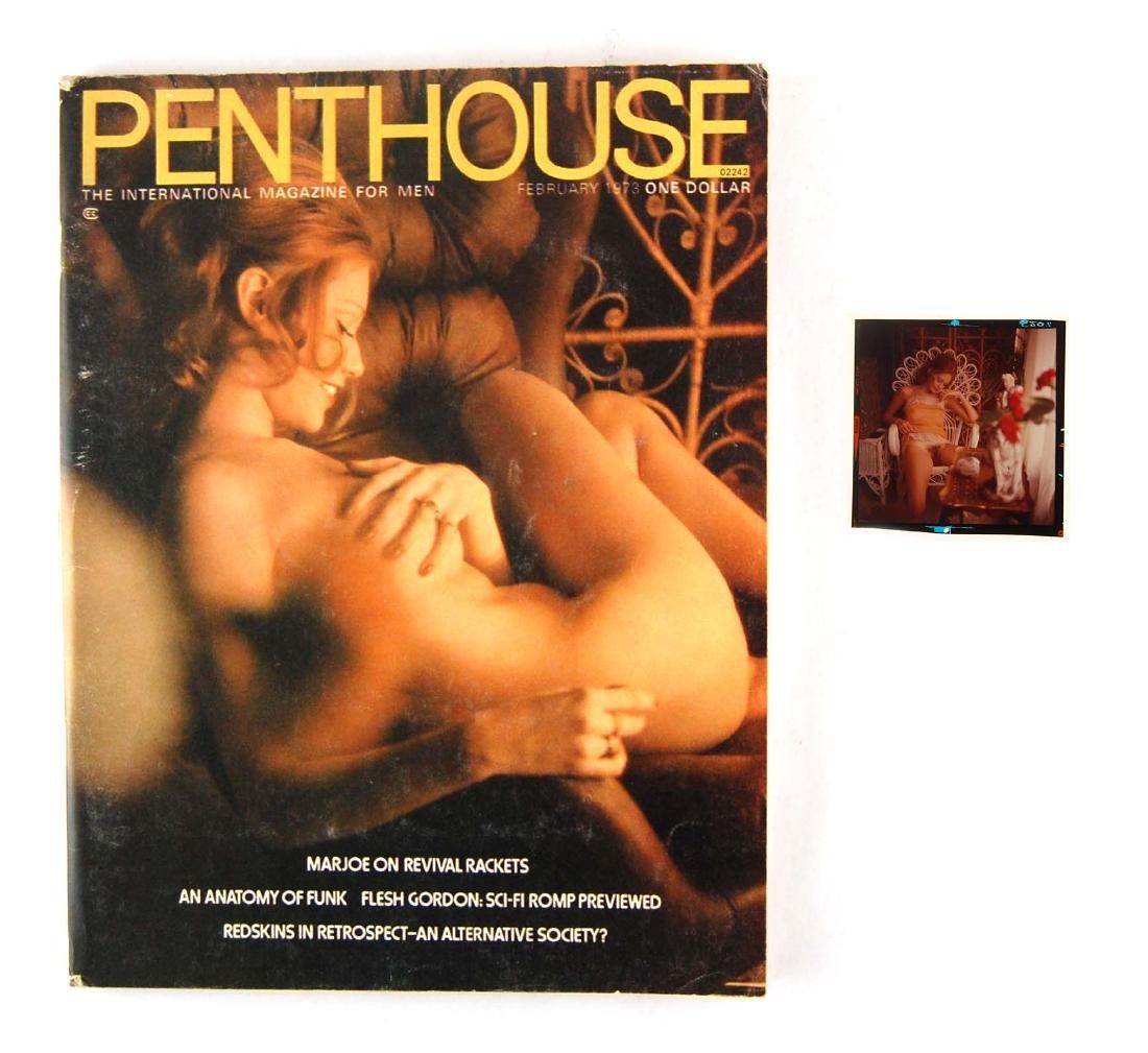 Nude 120mm Transparency Karen Sather & Penthouse