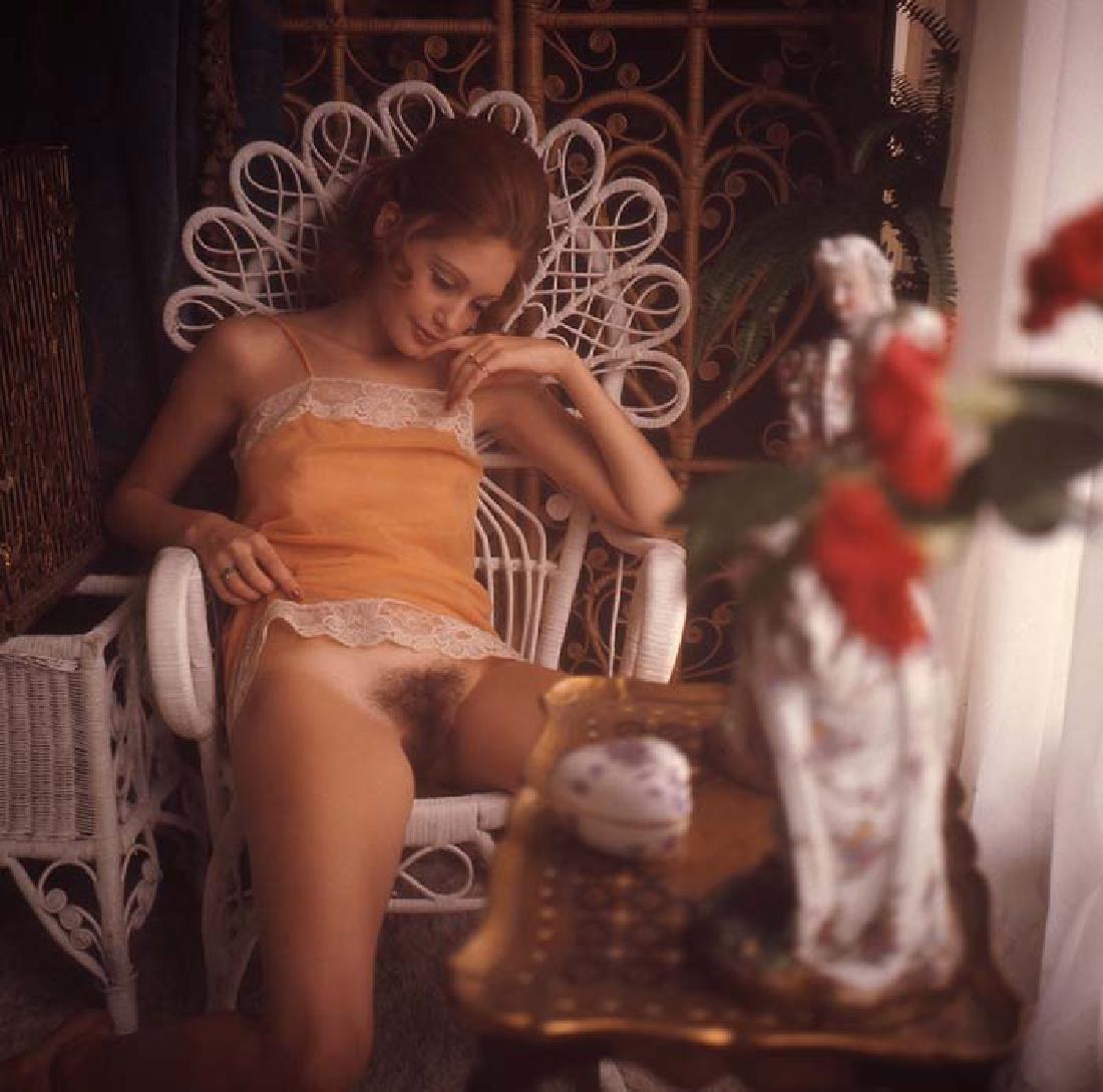 Nude 120mm Transparency Karen Sather & Penthouse - 2