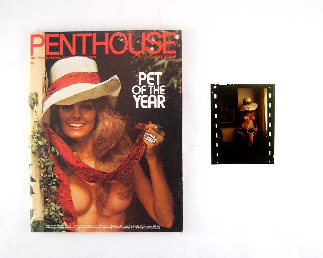 Orig Nude Francis Canon Chrome & 1973 Penthouse