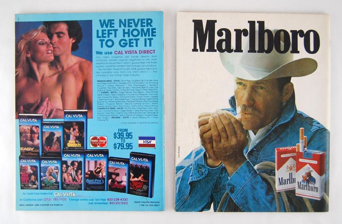 2 1980s Lui & Chic Adult Nude Erotic Men's Magazine - 2
