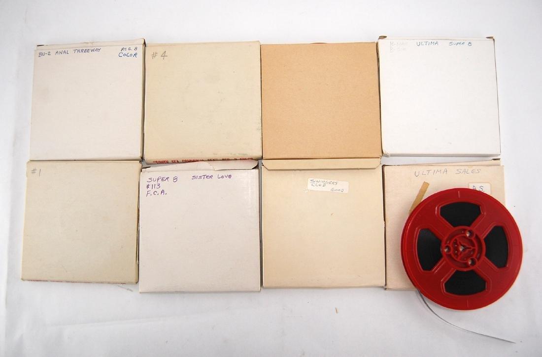 8 Vintage 1960s 1970s  Erotic Adult 8mm Films C