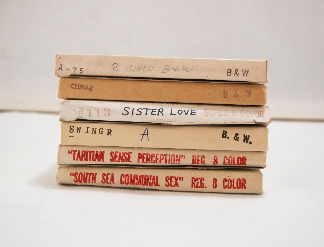 8 Vintage 1960s 1970s  Erotic Adult 8mm Films C - 3