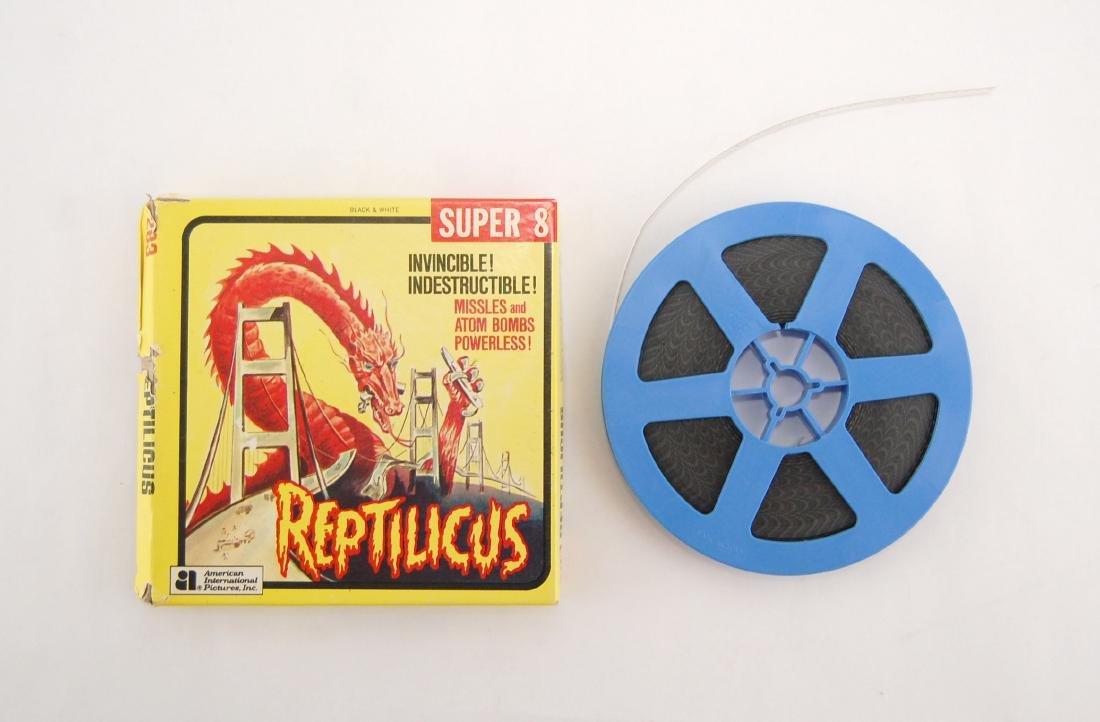 Super 8mm Film Reptilicus 1961 Monster Horror Movie