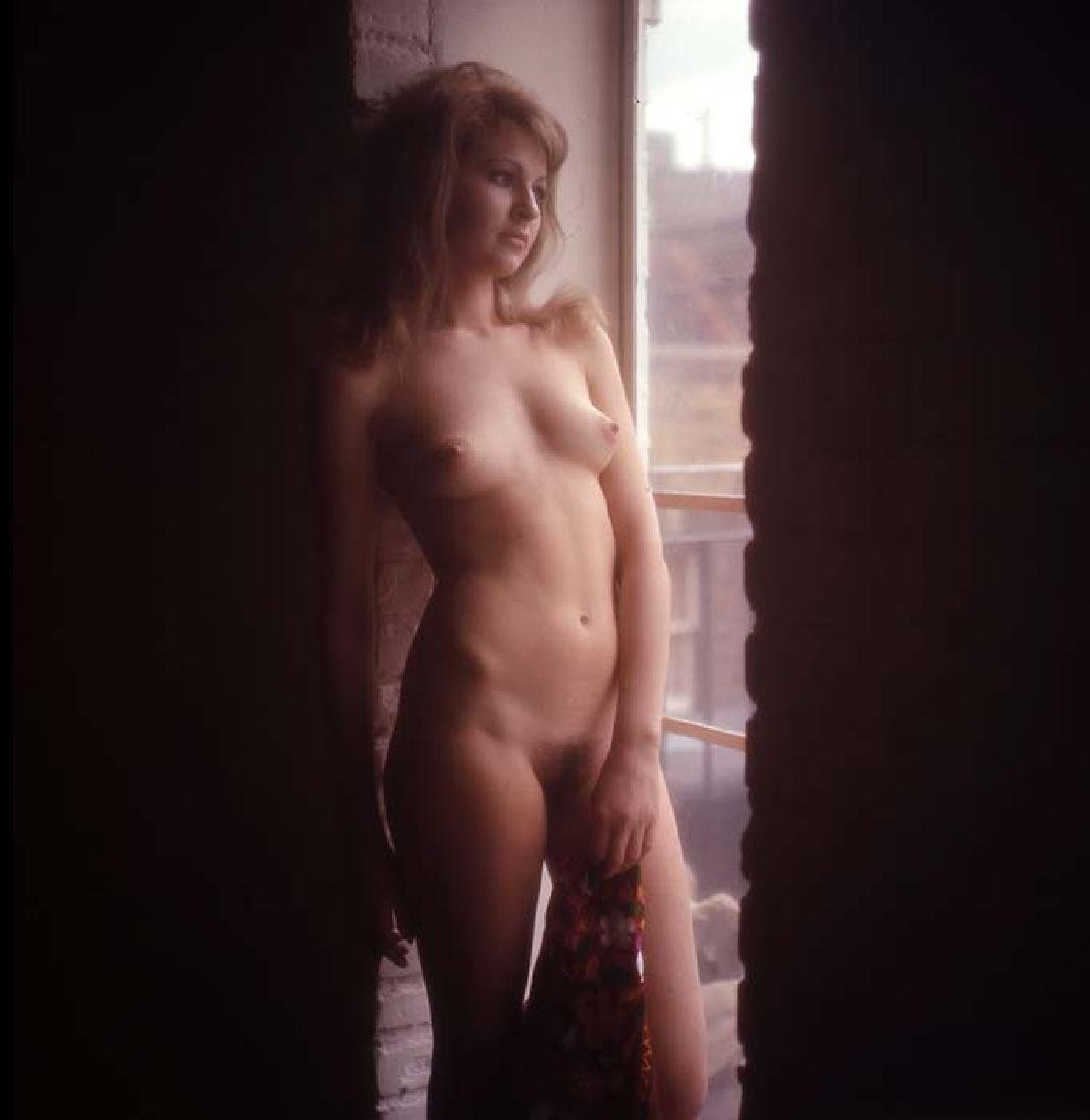 Orig Nude 120mm Transparency Nevenka Dundek by Guccione