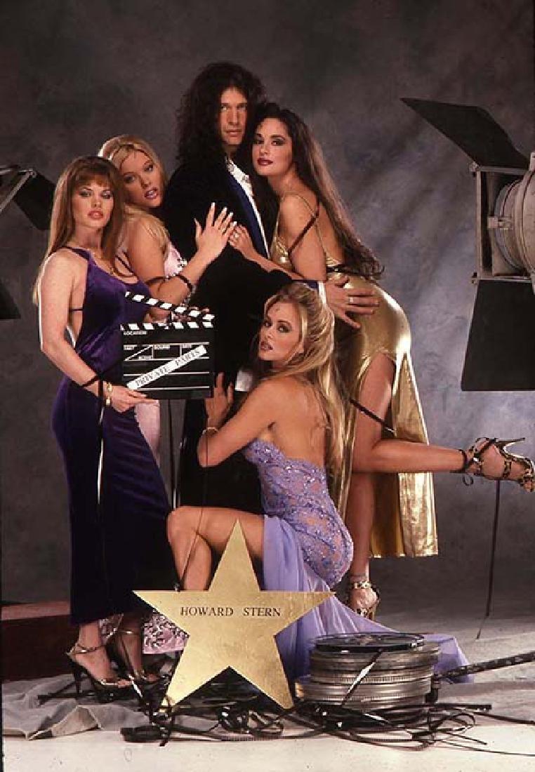 Orig 35mm Penthouse 1997 Slide Howard Stern by Warren