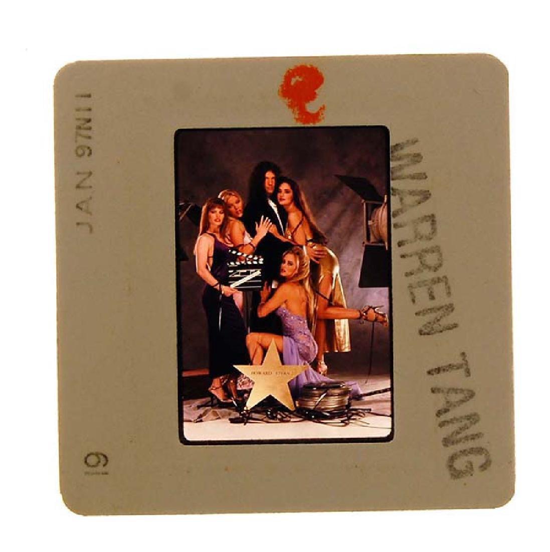 Orig 35mm Penthouse 1997 Slide Howard Stern by Warren - 2