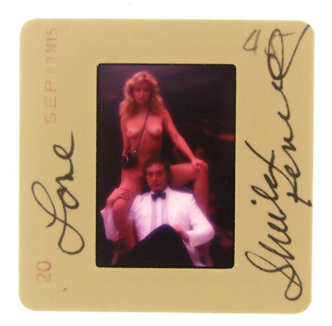 Orig Nude Signed 35mm Slide Sheila Kennedy by Bob