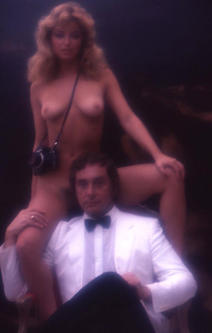 Orig Nude Signed 35mm Slide Sheila Kennedy by Bob - 2