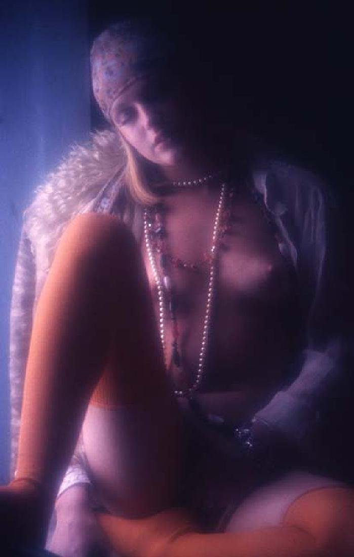 Orig Nude 35mm Slide Jane Hargrave by Bob Guccione #563