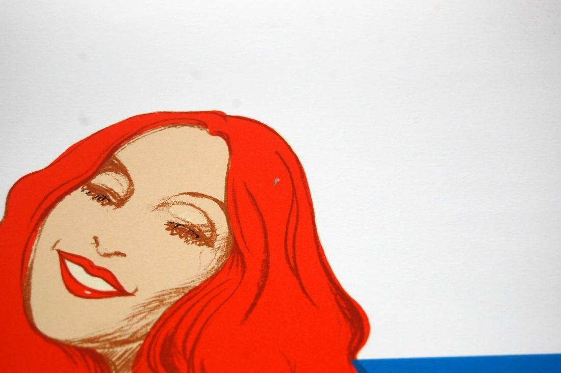 "Bob Pardo Erotic ""Hot Woman"" LTD ED 111/300 Serigraph - 4"