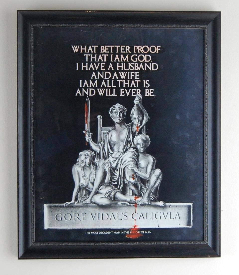 Gore Vidal's Caligula Movie Nude Erotic Art Poster