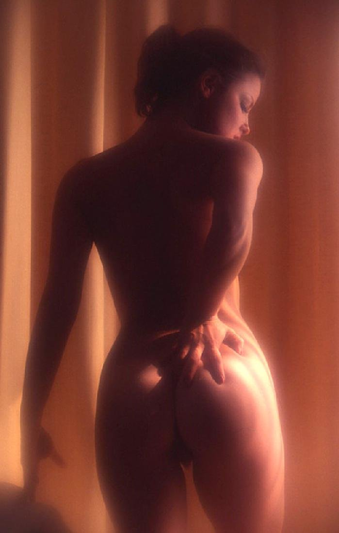 Orig Nude Signed 35mm Slide Sheila Kennedy by Bob - 2