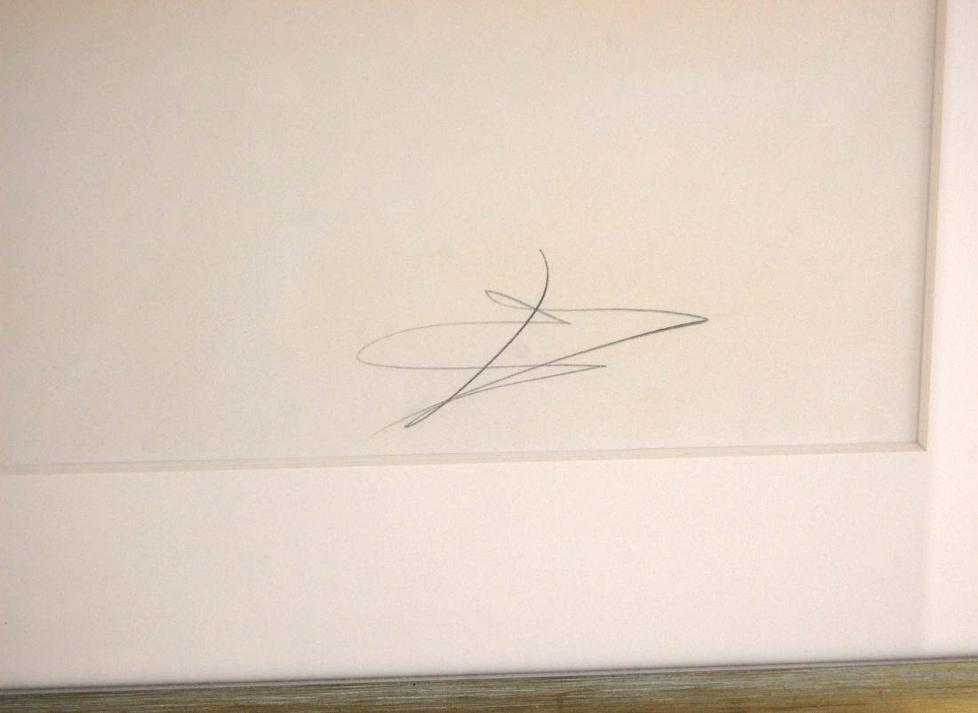 Signed Salvador Dali Embellished Art Lithograph - 6