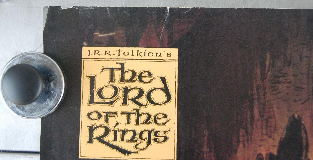 1978 Lord of the Rings Animated Fantasy Films Poster - 4