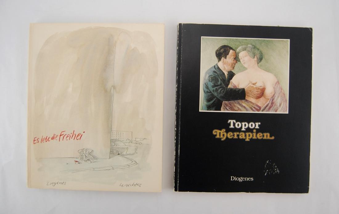 2 Diogenes Waechter Art Work Books