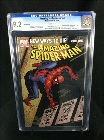 Amazing Spider-Man #506 October 2008  CGC Graded 9.2