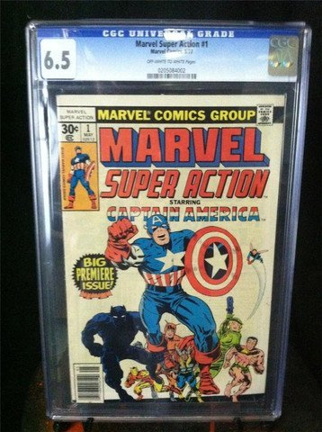 Marvel Super Action #1 May 1977 CGC Graded 6.5