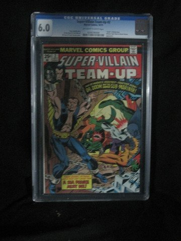 Super Villain Team Up #2 1975 CGC Graded 6.0