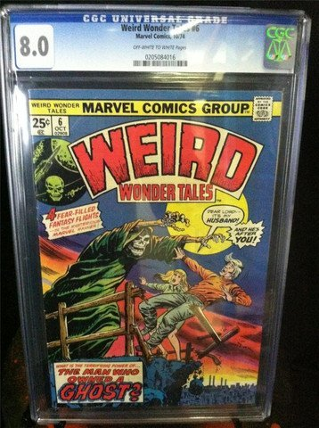 Weird Wonder Tales #6 October 1974 CGC Graded 8.0
